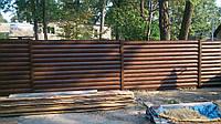 Забор из металлосайдинга. Хотите особенный забор? Монтаж