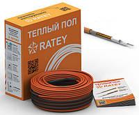 Одножильный нагревательный кабель Ratey 0.25 кВт 17 м