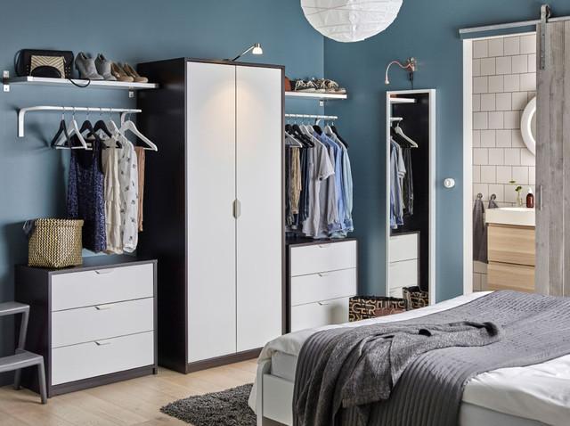 Решения для хранения в спальне IKEA