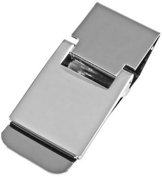 Компактный зажим для денег Elite M021-02, серебристый