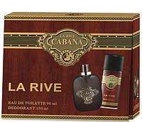 Набор Cabana La Rive - Мужская туалетная вода 90 мл. + дезодорант 150 мл спрей