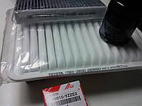 Комплект оригинальных фильтров на Toyota Camry (2.4)