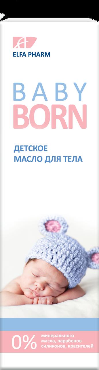 """Детское масло для тела ТМ """" Эльфа BabyBorn"""", 200 мл. - фото 1"""