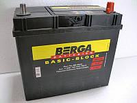 Аккумулятор автомобильный Berga 6СТ-45 АзЕ Basic Block Asia (545155033), фото 1