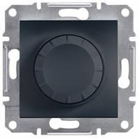 Диммер поворотный 20-315 Вт, антрацит - Schneider Electric Asfora