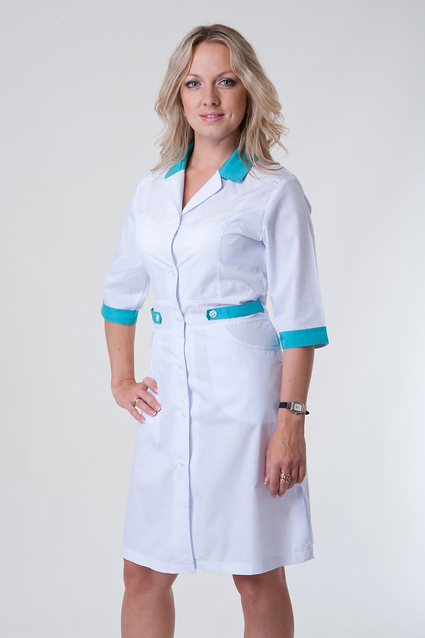 Медицинский халат 2146 (батист)