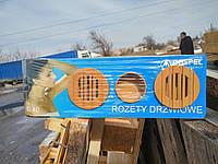 Решетка дверная Dospel RD 40/brown (007-0702)