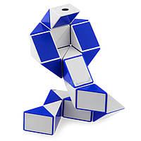 Змейка Рубика ShengShou Синий+Белый