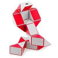 Змейка Рубика ShengShou Красны+Белый