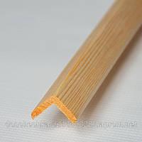 Уголок деревянный сосна