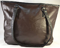 Женская коричневая сумка-мешок, хобо 012
