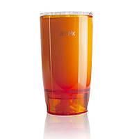 Фирменный стакан Jetpik с функцией подачи воды (оранжевого цвета)