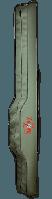 Чехол-тубус,купить чехол для 2-х удилищ-жесткий 140x17x17см Double Rod Stiff Bag