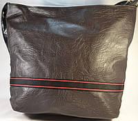 Женская коричневая сумка 012