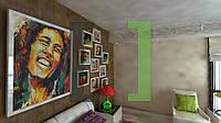 Дизайн-проект интерьера - комната reggae