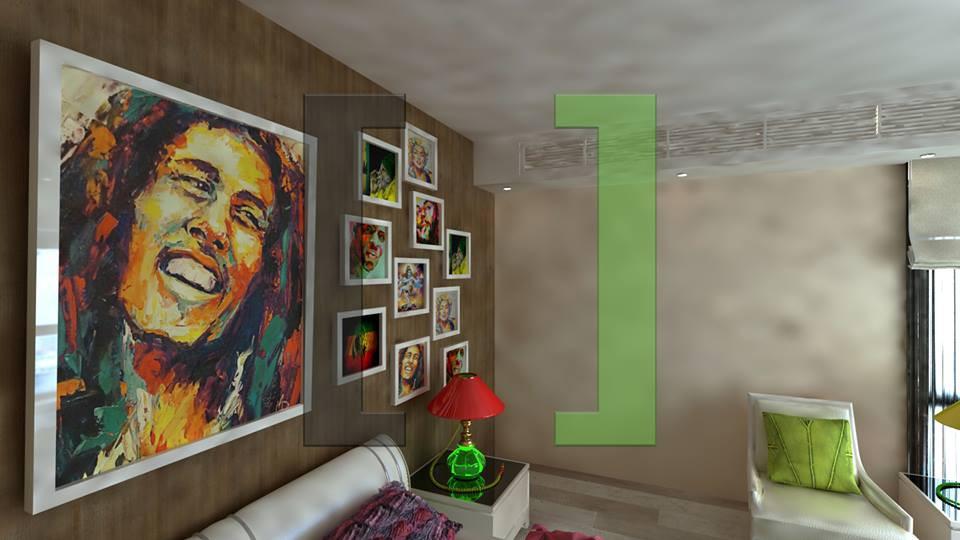 Дизайн-проект интерьера - комната reggae - Студия интерьеров   [ Твій простір ] в Киеве