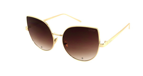 Модные солнцезащитные очки кошачий глаз Dior 2017