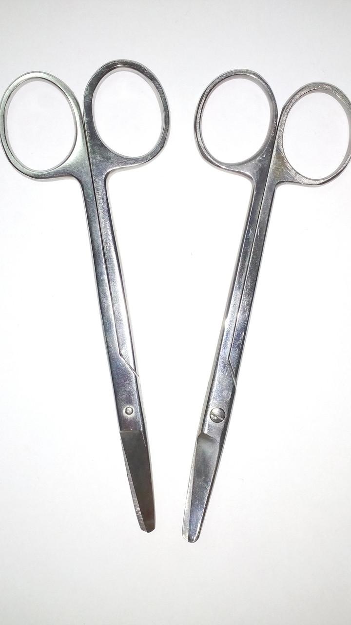 Ножницы хирургические из нержавеющей стали, 150 мм.