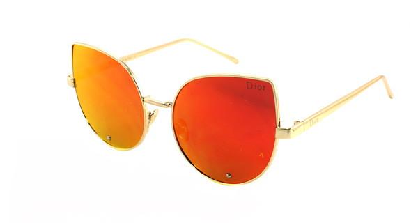 Стильные солнцезащитные очки кошки Dior