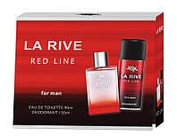 Набор Мужской La Rive Red Line - туалетная вода 90 мл. + дезодорант спрей 150мл
