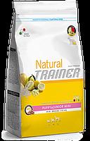 Trainer (Трейнер) Natural Puppy&Junior Mini - корм для щенков мелких пород с курицей и индейкой 0,8 кг
