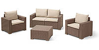 Комплект садовой мебели California 2 Set капучино (Time Eco TM)
