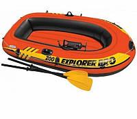 Надувная лодка Explorer 200 PRO Set Intex 58357 (120 кг)