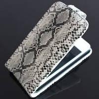 """Чехол-книжка LG E610/E612/E615/L5 Dual """"змея"""""""