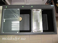 Мойка кухонная гранитная Franke Mythos MTG 620 onyx