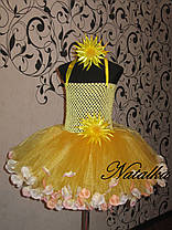 """Карнавальна сукня-спідниця з фатину """"СОНЕЧКО"""", фото 2"""