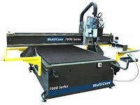 Фрезерно-гравірувальний верстат Multicam 7000 серії