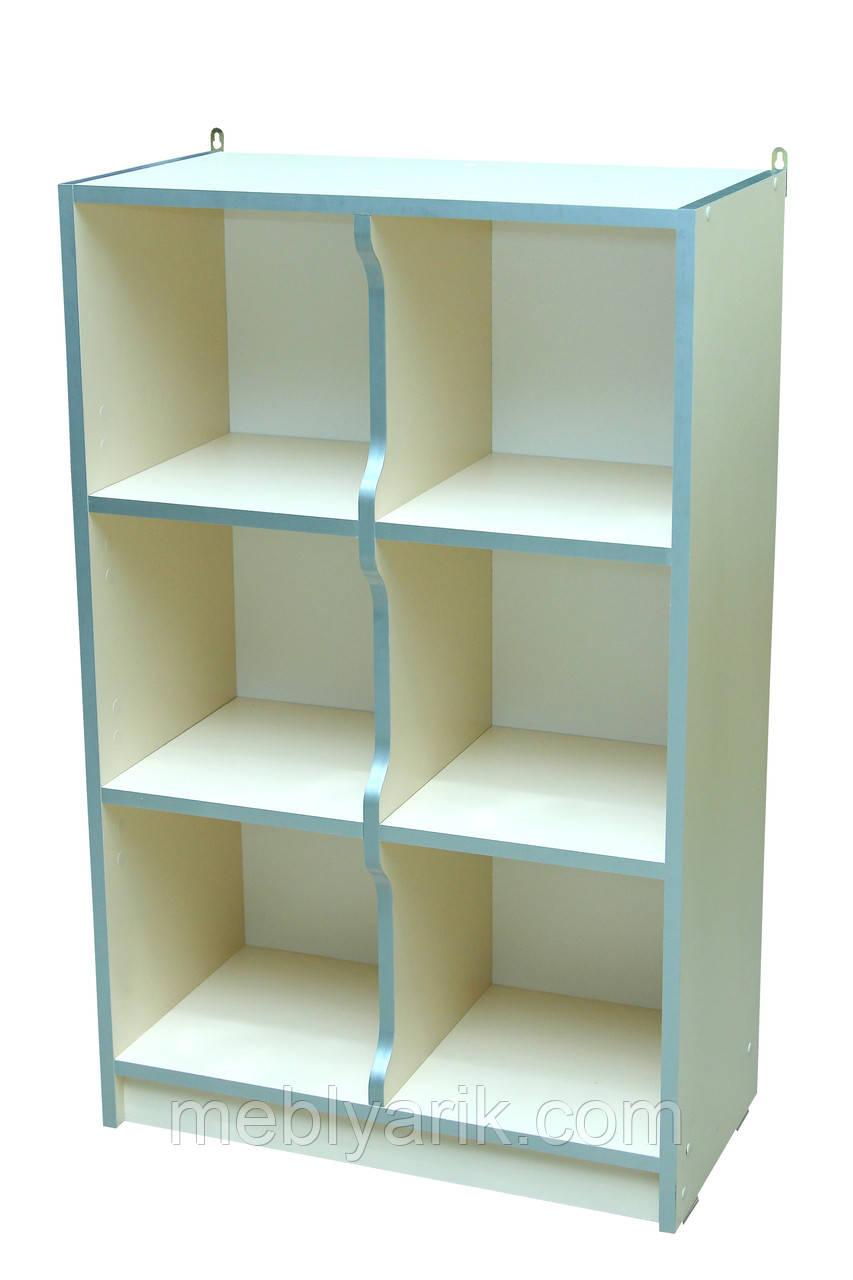 Шкаф детский ЗВЕРЮШКИ № 5 открытый на 6 отделений