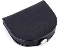 Стильный кожаный кошелек для монет WENGER W7-22BK, черный