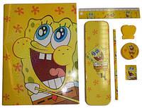 Детский канцелярский набор, Nickelodeon Spongebob 7предметов