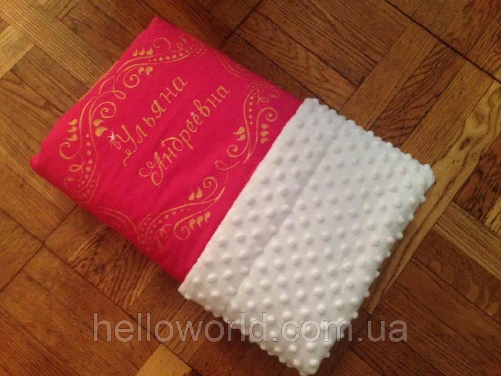 Одеяло для новорожденного весна