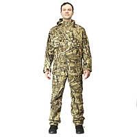 Куртка анорак камуфляжная охотничья FH камыш желтый