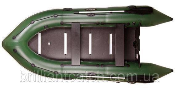 Надувная лодка Bark - четырехместная моторная