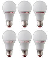 Набор светодиодных ламп Economka А60 LED 12W Е27 с СС-драйвером, 4200К