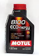 Motul 8100 ECO-nergy 5W-30 моторное масло синтетика - 1 литр.