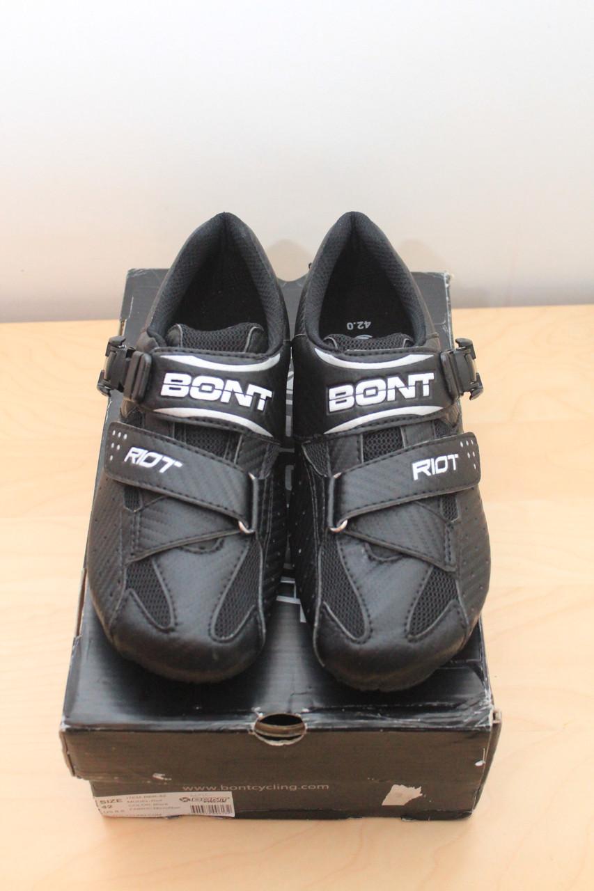 Велосипедные туфли Bont Riot 42 размер (26 см)