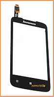 Сенсор (тачскрин) Lenovo A378T Black Original
