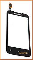 Сенсор (тачскрин) Lenovo A376 Black Original