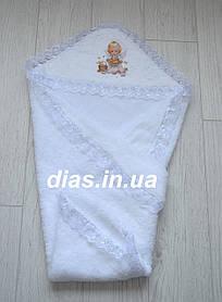 Крыжма для крещения детей c уголком