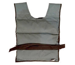 Жилет утяжелитель 10 кг (Фиксированный вес), фото 2