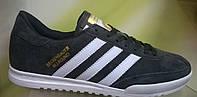 Мужские кроссовки Adidas Beckenbauer Allround серые с белым, размеры с 41 по 45