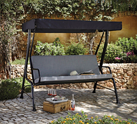 Качели садовые Haversham Classic Garden Swing Seat in Charcoal.