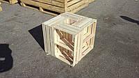 Ящик деревянный с перегородкой 50×35×20 см, фото 1