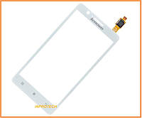 Сенсор (тачскрин) Lenovo A536 White Original