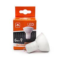 Лампа светодиодная рефлекторная MR16 G-6-4200-GU5,3