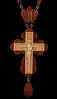 Крест наперсный наградной №6.2 (красное дерево)